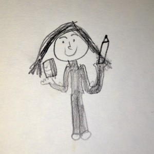 Self-Portrait of the Writer as a Young Girl